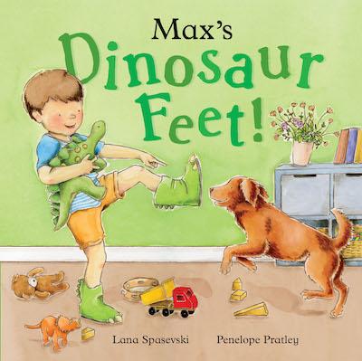 Max's Dinosaur Feet