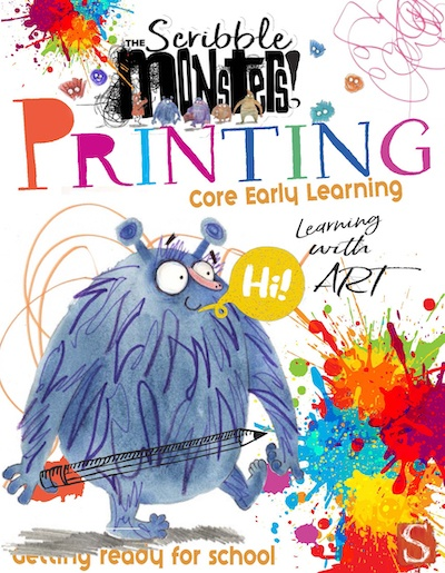 The Scribble Monsters: Printing Activity Book