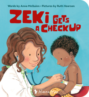 Zeki Gets a Check Up