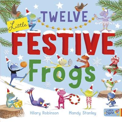 Twelve Little Festive Frogs